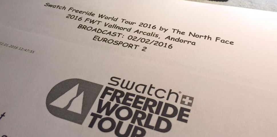 Thomas van Bemmelen Swatch Freeride World Tour 2016